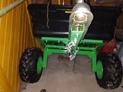 Anhänger für Rasentraktor Quad ATV