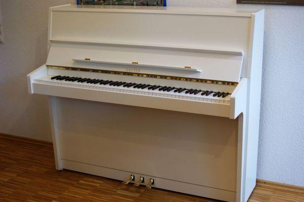 Klavier Sauter 120 R2 weiss