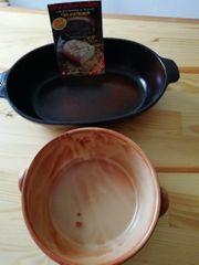 Brotbackform und Auflauf Form
