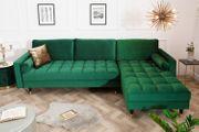 NEU Ecksofa Couch Cozy VelvetII