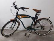 Rarität Retro-Jaguar-Fahrrad mit Echtholzverkleidung