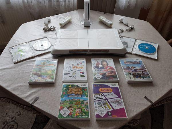 Nintendo Wii Konsole Wii Fit