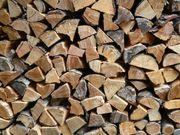 Brennholz - 2 Jahre gelagert - auf