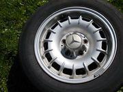 Mercedes 8 ALUfelge mit Reifen