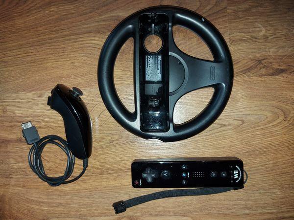 Wii Controller Nunchuck Lenkrad