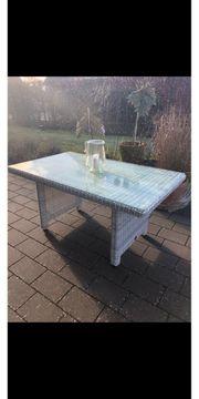 Lounge Tisch Esstisch Gartentisch Modell