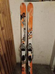 Telemark Ski und Schuhe