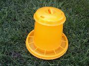 Geflügelfutterautomat gelb 1 5kg