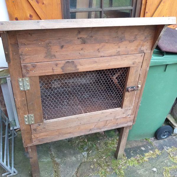 Hasenstall Kaninchenstall Holzstall stabil ca