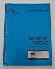 Nakamichi 700 ZXE Audio Kassetten