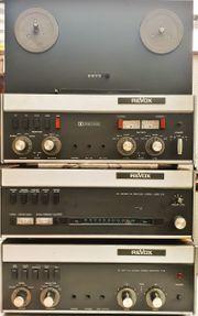 ReVox Tonstudio mit Tuner A