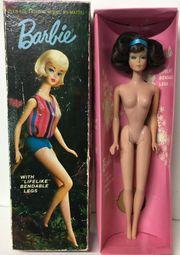Vintage Mattel Barbie Puppe in