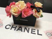 Chanel Deko Flowerbox Rosenbox