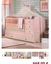 Mitwachsendes Babybett Elternbett Gästebett