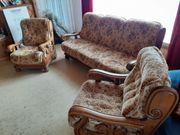 Couchgarnitur braun