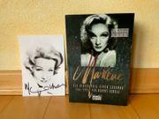 Marlene Dietrich handsigniertes Foto Buch