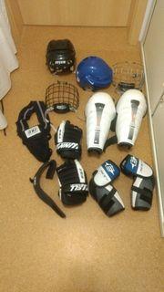 Hockey Ausrüstung auch einzeln zu