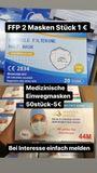 FFP2 & Medizinische Masken - Paderborn Kernstadt - Wir bieten CE zertifizierte Masken an.FFP2 Masken- Stück 1EURMedizinische Masken 50er- 5EURGroße Mengen sind möglich.Versand nach ganz Deutschland.Keine Garantie. Keine Gewährleistung - Paderborn Kernstadt