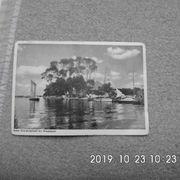 Historische Postkarte Neu-Helgoland bei Worpswede