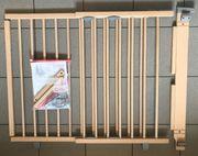 Geuther Treppenschutzgitter 2735 natur 95-135cm