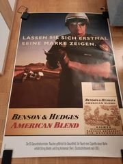 Werbeplakat Benson Hedges - Original City-Light-Poster
