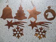 Christbaumschmuck Weihnachtsbaumschmuck aus Kupfer 8