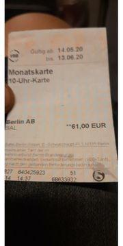 Monatskarte Berlin
