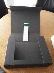 Elba Dokumentmappe schwarz A4 mit