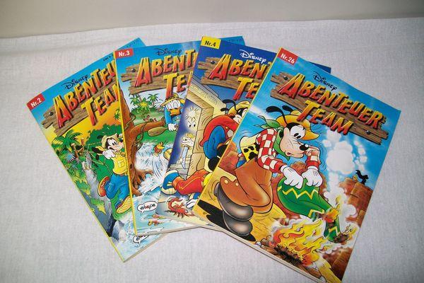 Comic - Abenteuer Team
