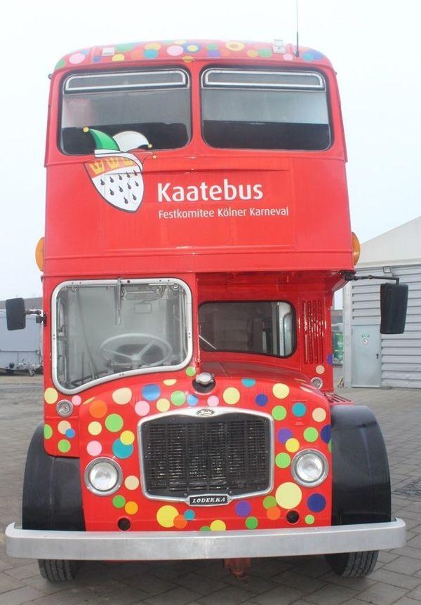 Ehemaliger Party- und Eventbus Bristol
