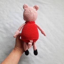 Wutz Pig Rosa Schwein gehäkelt: Kleinanzeigen aus Plochingen - Rubrik Puppen