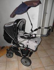 Kombi Kinderwagen Buggy Hartan Racer