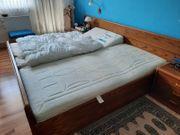 massives Doppelbett zu verkaufen