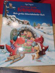 Drache Kokosnuss Adventskalender Buch mit