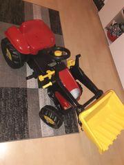 Traktor mit Schaufen