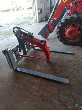 Traktoren, Landwirtschaftliche Fahrzeuge - Holzzange für Frontlader Holzgreifer Forstgreife