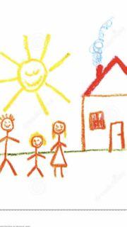 Kleine Familie sucht ein Häuschen