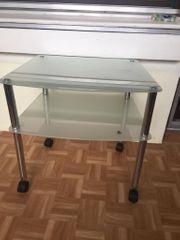 Tisch aus Sicherheitsglas zu verschenken