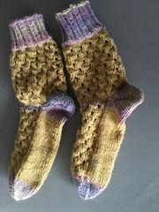 Socken - selbstgestrickt