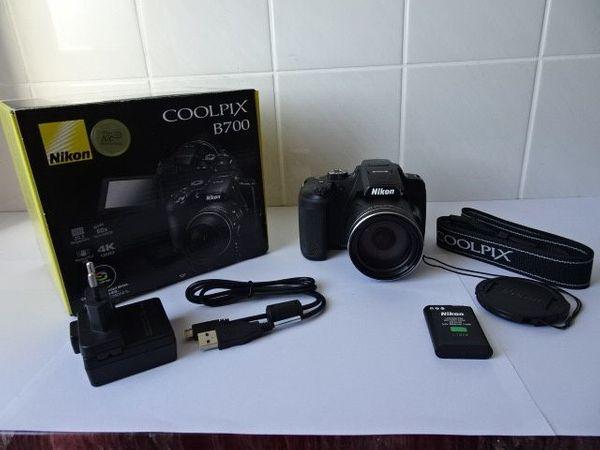 Neu Foto-Videokamera Nikon Coolpix B700 in original Veroackung mit neu Firmware v. 1. 3