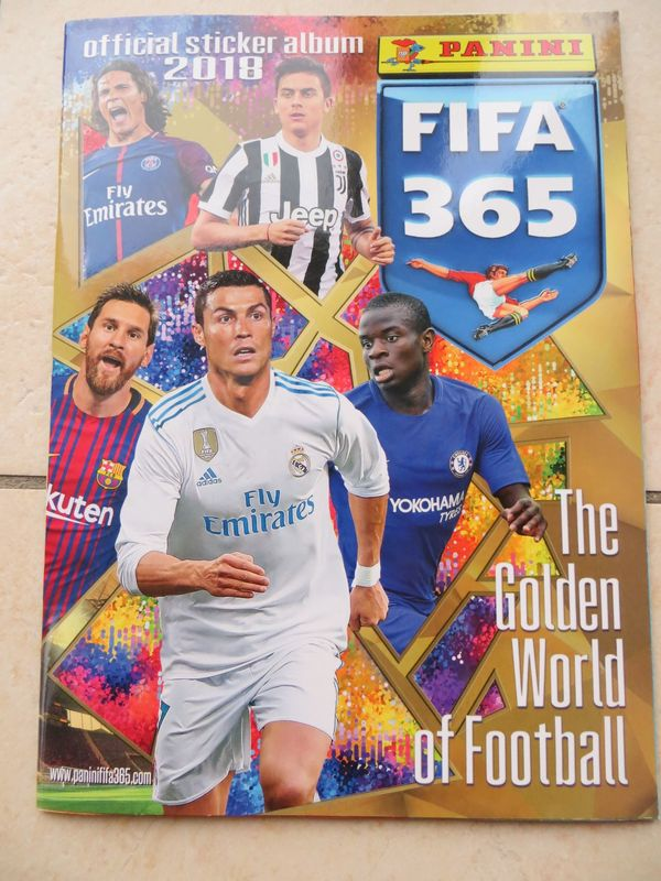 Panini Fifa 365 - The Golden