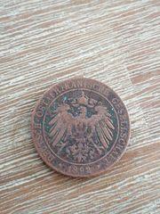 Münze Deutschland Ost Afrika 1892