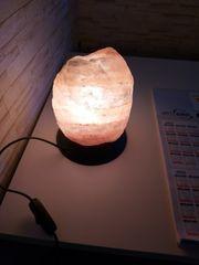 Salzsteinlampe