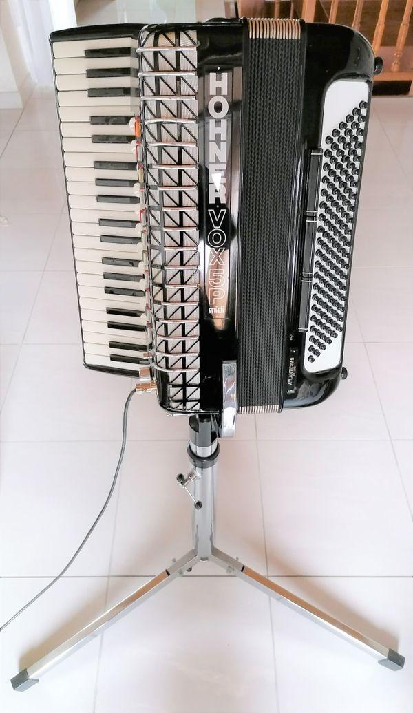 Akkordeon Hohner VOX 5P Midi