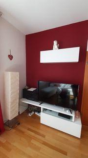 Wohnwand TV Schrank Lowboard und
