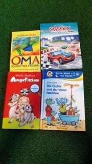 4 verschiedene Kinder Bücher