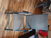 4 Gartenstühle mit Tisch 158