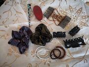 Haarschmuck Haarspangen Konvolut Sammlung