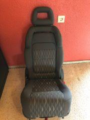 Ford Galaxy Sitz mit Kindersitz