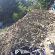 Erdaushub Mutterboden Füllmaterial